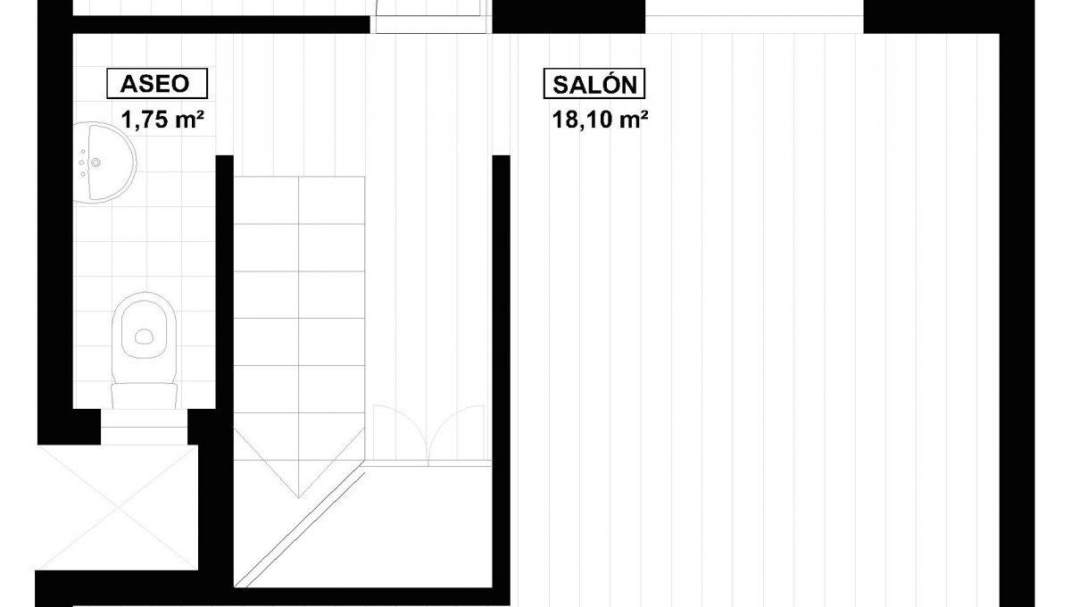 Plano Duplex en Via Julia Planta Baja
